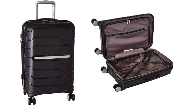 Samsonite Freeform Hardside Spinner 21, Black