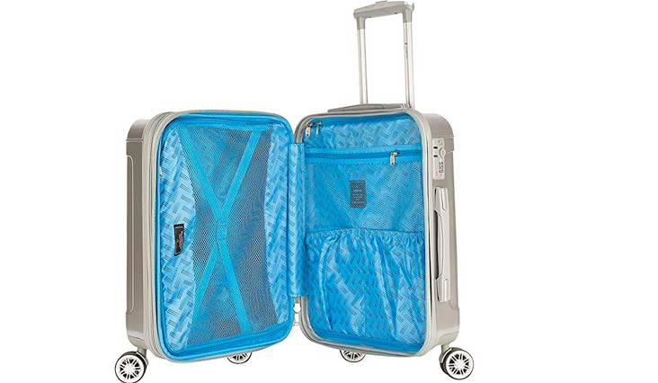 Genova 3 Piece Expandable Hardside Spinner Luggage Set