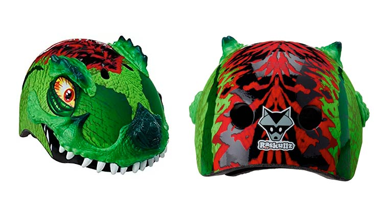 Raskullz Dinosaur Dragon Child Bike Helmets