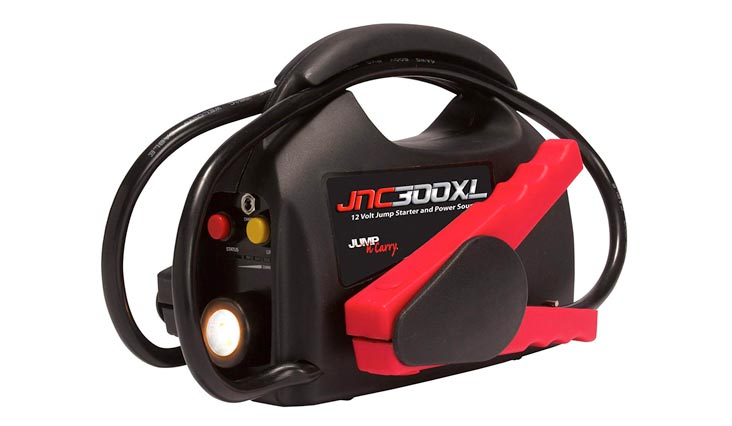 Clore Automotive Jump-N-Carry JNC300XL 900 Peak Amp 12V Jump Starter