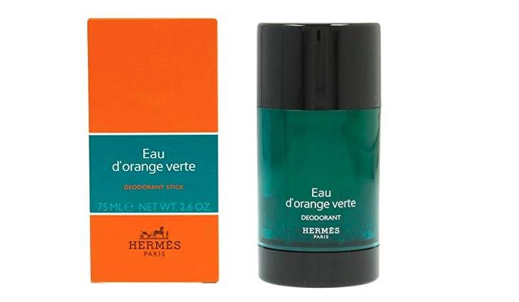Eau D' Orange Verte By Hermes For Men & Women. Deodorant Stick 2.6 Oz / 75 Ml