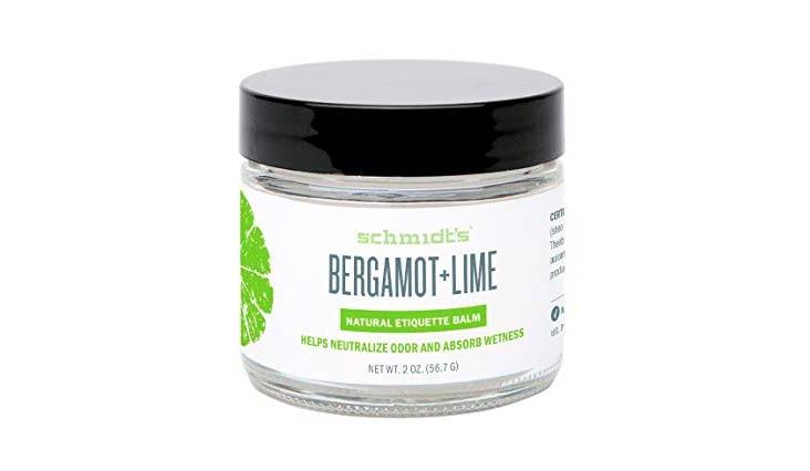 Schmidt's Natural Deodorant - Bergamot + Lime, 2 oz. Jar for Women & Men