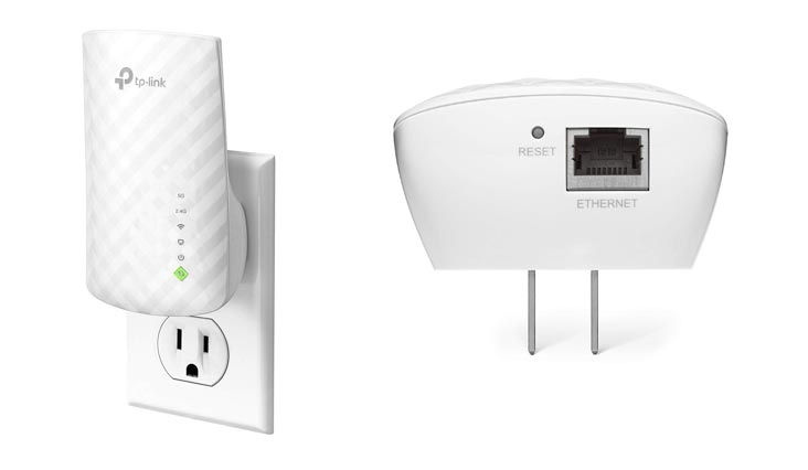TP-Link AC750 Dual Band WiFi Range Extender, Repeater, Access Point w/Mini Housing Design, Extends WiFi to Smart Home & Alexa Devices (RE200)