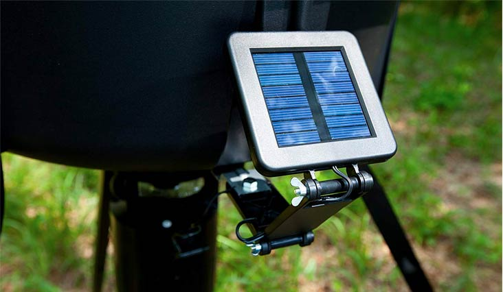 Moultrie 6-Volt Deluxe Solar Panel for Feeders | Trickle Charge | Redesigned Connectors