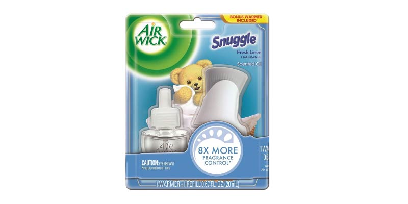 Air Wick 1 Warmer and Refill Snuggle Fresh Linen Scented Oil